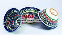 Набор 3шт. пиал узбекских 230мл 11х5,5см, ручная роспись (вариант 2)