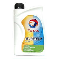 TOTAL Антифриз GLACELF PLUS 1л G-11 GREEN-Blue