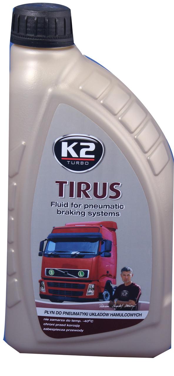 K2 Tirus -40С Рідина для пневм гальмов. систем 1л.