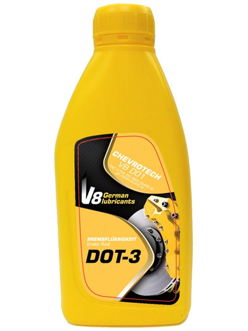 V8 рідина гальм.ДОТ-3 0.8л