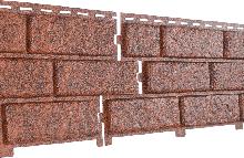 Фасадные панели U-Plast Stone House Кирпич (красный)