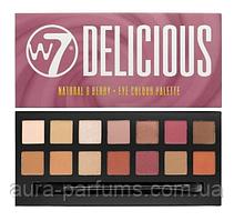 W7 Палетка теней для век  Delicious Natural and Berry Eye Colour Palette Paleta