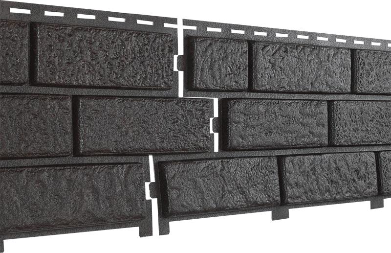 Фасадные панели U-Plast Stone House Кирпич (коричневый)
