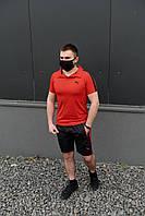 Мужской летний комплект, костюм Puma (поло +шорты)