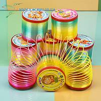 Радужная пружинка Цветная, фото 2