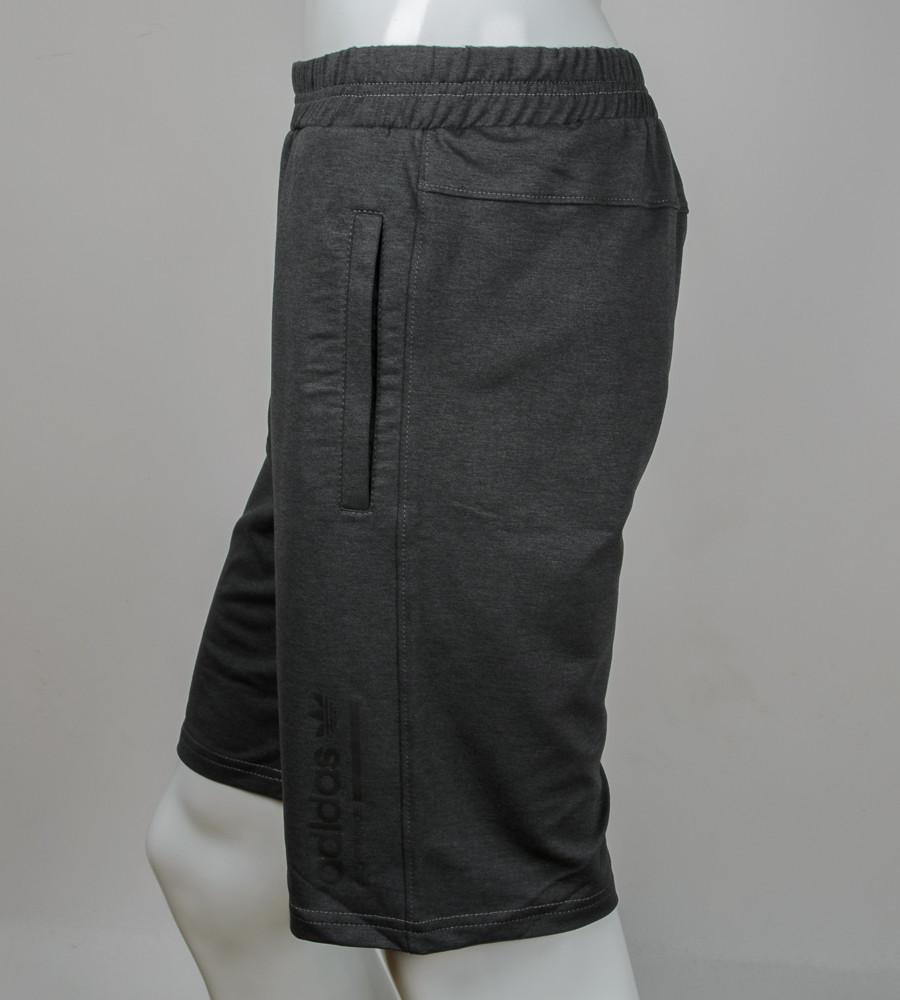 """Шорти чоловічі """"Adidas"""" (Ш002) , Т. Сірий"""