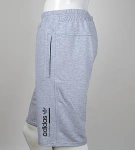 """Шорти чоловічі """"Adidas"""" (Ш002) , Сірий"""