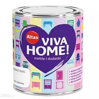 Краска VIVA HOME для мебели и интерьера 0,75л Белый снег