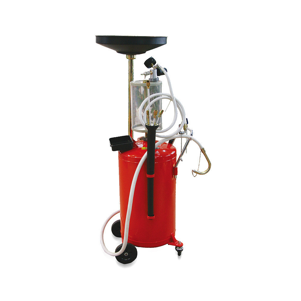 Установка для вакуумного відкачування масла з мірною колбою (90 л) TORIN TRG2090