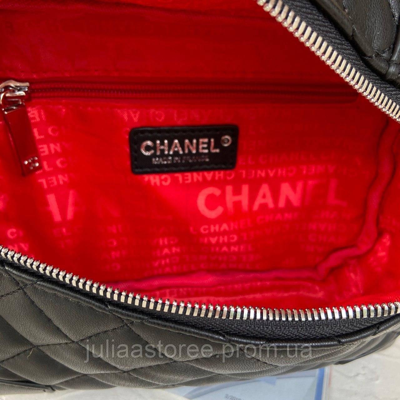 Женская сумка на цепочке через плечо Chanel Шанель реплика 6