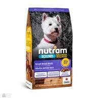 Nutram S7 Sound Balanced Wellness Small Breed Adult Dog - cухой корм для взрослых собак мелких пород с курицей