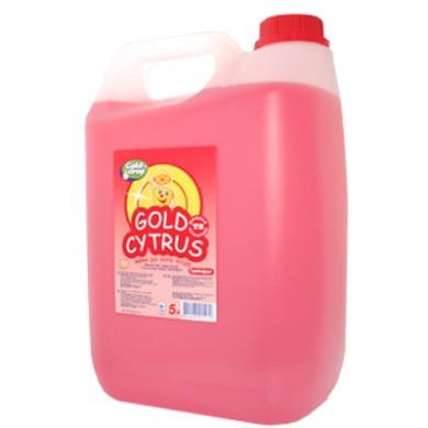 Жидкость для мытья посуды GOLD CYTRUS грейпфрут 5л