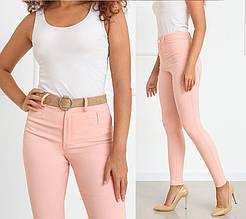 """Узкие облегающие женские брюки """"Lavan""""  Батал"""