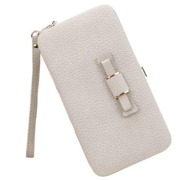 Женский кошелек портмоне BAELLERRY Pidanlu Style Серый