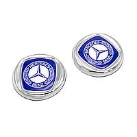 Декоративные наклейки MERCEDES Синие