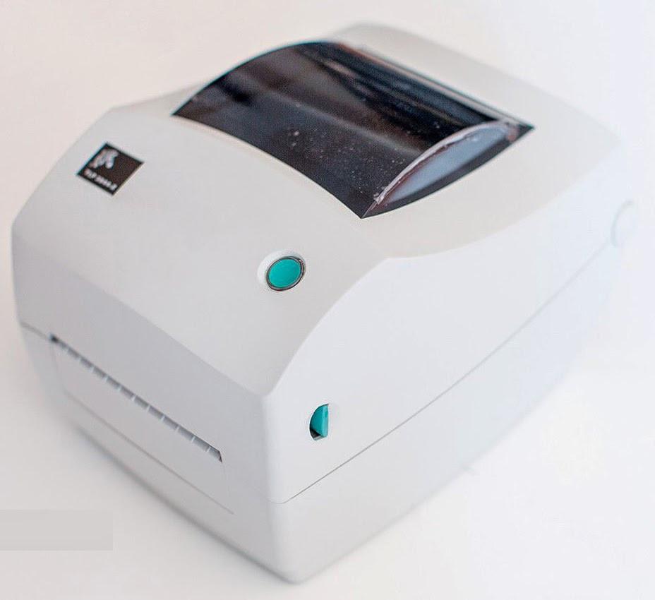 Термотрансферный принтер этикеток Zebra TLP 3844-Z USB + RS-232 300dpi