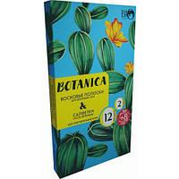 Набор для депиляции тела для чувствительной кожи BioWorld Botanica Восковые полоски 20 шт + Саше, КОД: 912765