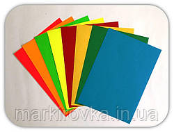 Цветные этикетки А4 матовые и флуоресцентные - еще одно направление нашего производства