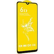 Защитное стекло 6D на Xiaomi  Mi A3 Black