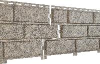 Фасадные панели U-Plast Stone House Кирпич (бежевый)