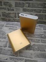 Портативное зарядное устройство Power bank 10400mAh Внешний аккумулятор павербанк Золотой