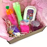 Slime box Слайм Бокс подарок для девочки, мальчика, ребенка
