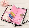 Женский кошелек портмоне BAELLERRY Pidanlu Style Светло-фиолетовый, фото 2