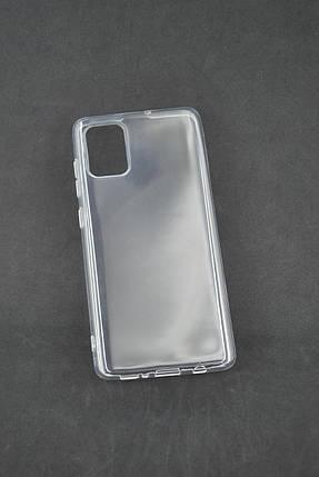 Чехол Samsung A41/A415 Silicon TPU Transparent Прозрачный, фото 2
