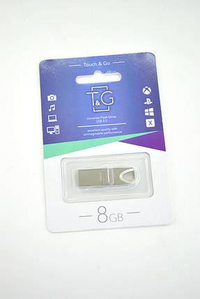 Флеш-накопитель Usb 8Gb T&G 117 Metal series Silver, фото 2