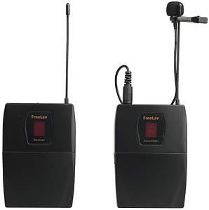 Бездротовий петличний радіомікрофон, радиопетличка FREELAV для камер і телефонів