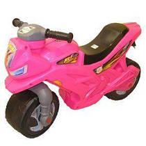 Мотоцикл 2-х колесный розовый Орион  ( TC28737)
