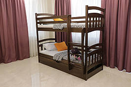 """Двухъярусная кровать  Drimka """"Бемби"""" с подъемным механизмом 90х200"""