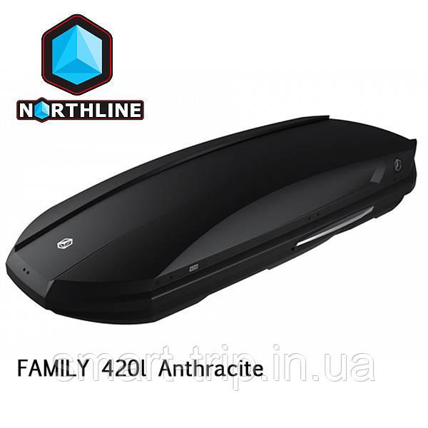 Бокс Northline Family 420 л Antracit антрацит матовый N0719006