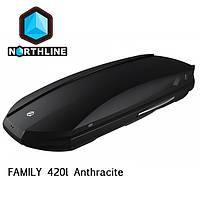 Бокс Northline Family 420 л Antracit антрацит матовый N0719006, фото 1
