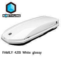 Бокс Northline Family 420 л  White glossy белый глянцевый N0719007