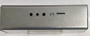 """Портативна колонка, радіоприймач (USB/SD/FM) """"UK-2"""" Silver, фото 3"""