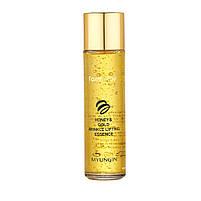 Омолаживающая эссенция для лица с экстрактом золота и меда Farmstay Honey & Gold Wrinkle Lifting Essence 130мл, фото 2