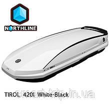 Бокс Northline Tirol 420 л Wing White-Black  белый глянцевый N0719012