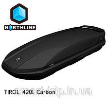 Бокс Northline Tirol 420 л Wing Carbon карбон N0719014