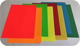 Самоклеящаяся бумага формата А4 цветная: матовые и флуоресцентные цветные этикетки