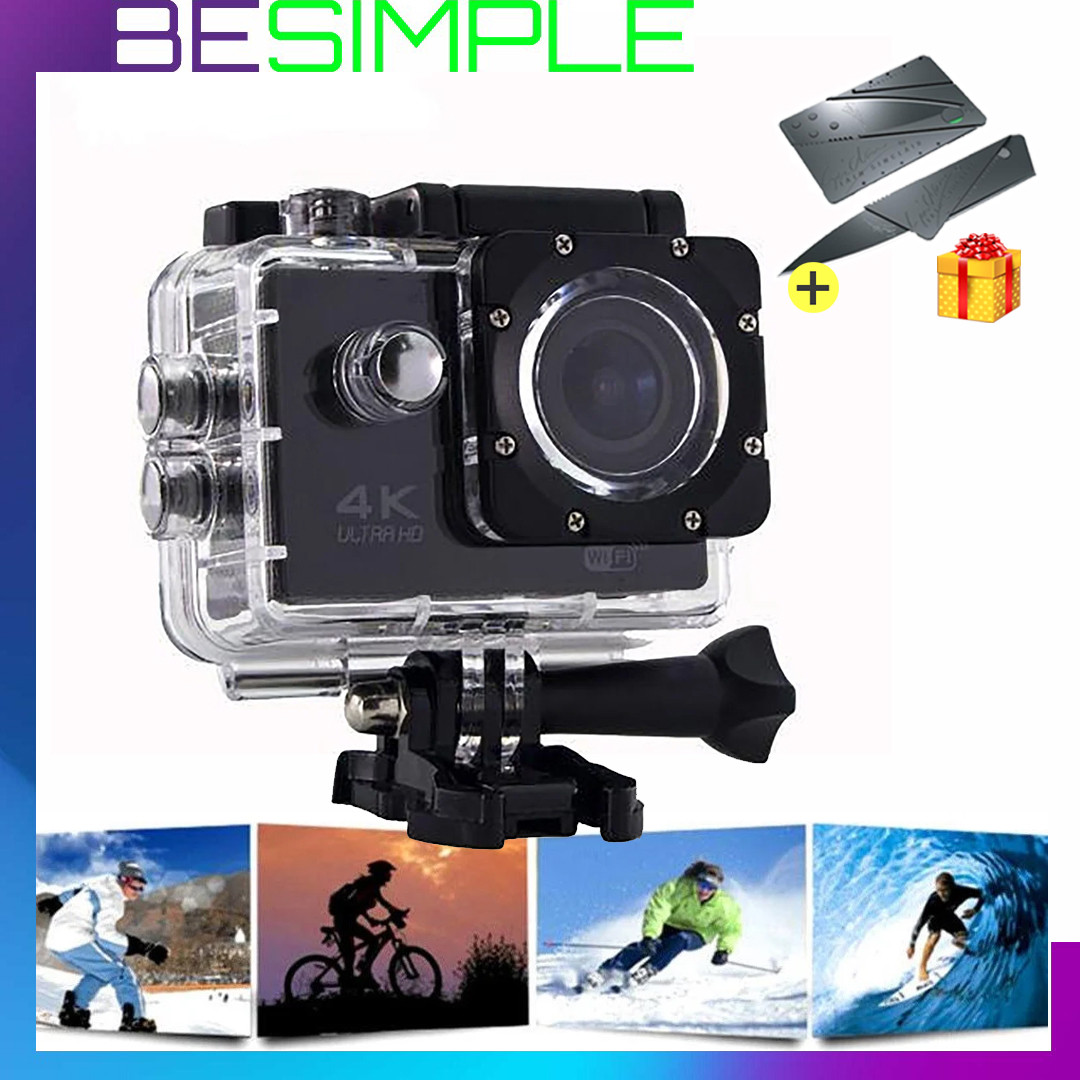 Экшн-камера Action camera DVR SPORT S2 Wi Fi waterprof 4K