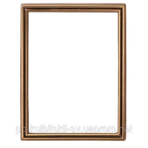 Латунна рамка під портрет на памятник Caggiati 21256/18*24