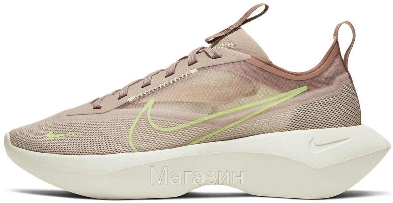 Женские кроссовки Nike Vista Lite Fossil Stone/Barely Volt-Desert Dust Найк Виста Лайт бежевые CI0905-200