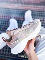 Женские кроссовки Nike Vista Lite Fossil Stone/Barely Volt-Desert Dust Найк Виста Лайт бежевые CI0905-200, фото 2