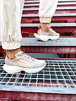 Женские кроссовки Nike Vista Lite Fossil Stone/Barely Volt-Desert Dust Найк Виста Лайт бежевые CI0905-200, фото 3