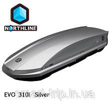 Бокс Northline EVOspace 330 л Silver чорний глянець N0719003