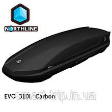 Бокс Northline EVOspace 310 л Black черный глянец N0719002