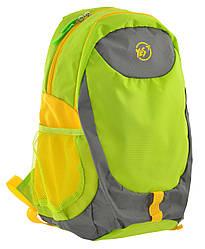 Рюкзак спортивный YES SL-01 унисекс водоотталкивающий салатовый (557504)