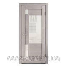 Межкомнатная дверь  шпон натуральный MARGO серая фабрики Grand Wood