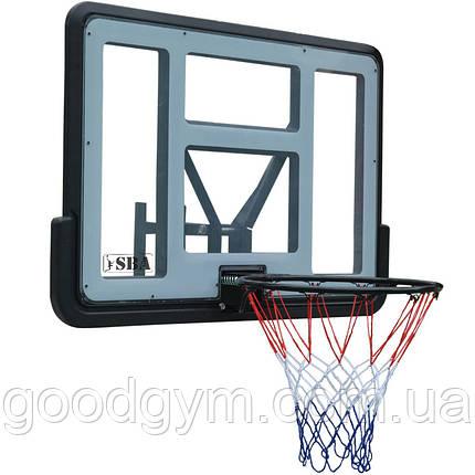 Баскетбольный щит SBA S007 110x75 см, фото 2
